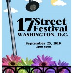 Poster for 17th Street Festival, Saturday, September 25, 2010