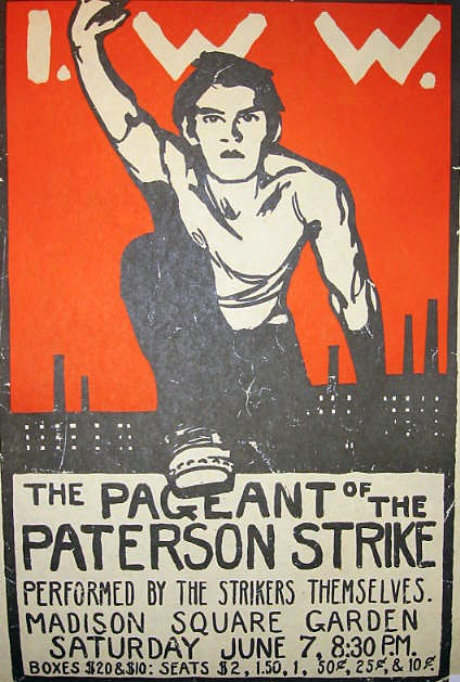 Poster for Pageant of the Patterson Strike