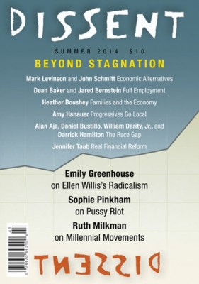 Cover of Dissent, Summer 2014